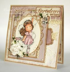 Gorgeous card, magnolia stamp