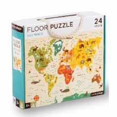 Petit Collage world map puzzle features vibrant engaging artwork. Once kids have mastered our beginner puzzles, they may be ready to grow with these bigger concept, 24 large-sized puzzles. Giant World Map, World Map Puzzle, Washi, Bebe Love, Floor Puzzle, Collage, Puzzles For Kids, Our World, Puzzle Pieces