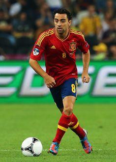 Xavi Hernandez: el que definió el estilo de la Selección Española.