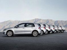 La historia del Volkswagen Golf