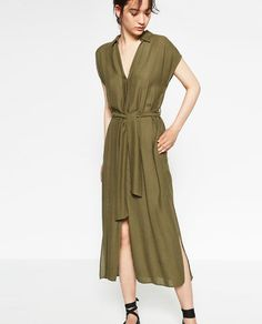 Image 3 of DRESS WITH SLITS from Zara