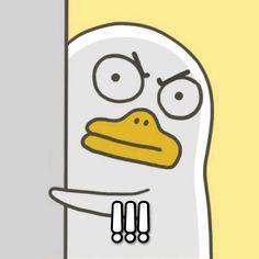 Funny Cat Wallpaper, Cute Disney Wallpaper, Creative Instagram Stories, Instagram Story Ideas, Duck Emoji, Duck Illustration, Funny Duck, Duck Art, Instagram Frame Template