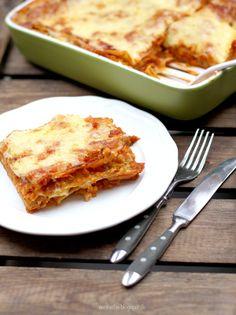aentschies Blog: Vegetarische Lasagne mit roten Linsen