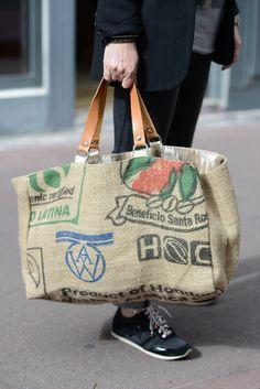 Cabas récup toile sac de café Boutique Avant Après 29 rue Foch Montpellier jpg06