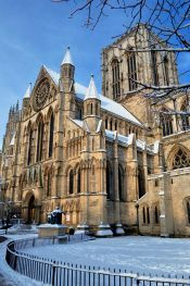 The York Minster in York, England