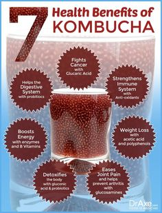 Kombucha benefits. Pick Kombucha with chia seeds. It's an acquired taste, but worth taking the time to getting used to it!