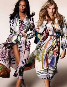 Naomi Campbell and Jourdan Dunn Star in Burberry s Spring Campaign    Pinterest   Jourdan dunn, Naomi campbell and Campaign 6a4f1f9de12
