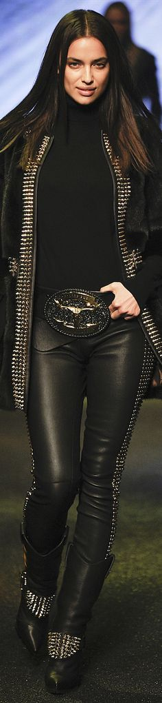 FASHION, FALL 2014 PHILIPP PLEIN RTW, RUNWAY, FALL 2014 Ready-To-Wear, MILAN FASHION WEEK 2014
