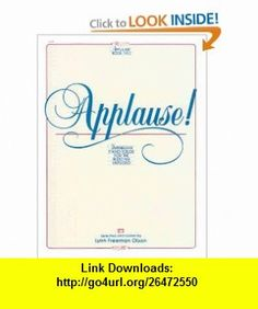 Applause!, Bk 2 Impressive Piano Solos for the Budding Virtuoso (Alfred Masterwork Editions) (0038081002941) Alfred Publishing Staff, Lynn Freeman Olson , ISBN-10: 0739021664  , ISBN-13: 978-0739021668 ,  , tutorials , pdf , ebook , torrent , downloads , rapidshare , filesonic , hotfile , megaupload , fileserve