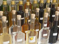 About homemade Italian liqueurs and other after-dinner drinks (digestivi), with recipes.