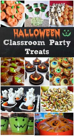 ☞❤ Halloween is a stunning time to play around with family and companions.Halloween gatherings are so much fun right? Here is a gathering of over Halloween party food that you can make for your next Halloween kids party Halloween Party Snacks, Halloween Cupcakes, Comida De Halloween Ideas, Halloween Treats To Make, Classroom Halloween Party, Dessert Halloween, Hallowen Food, Classroom Treats, Halloween Goodies