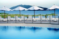 The Pool at Doria Hotel in Bodrum