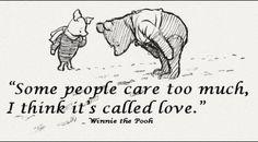 Love. Winnie Pooh ♥
