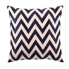 I pinned this Zig-Zag Pillow in Navy from the D.L. Rhein event at Joss & Main!