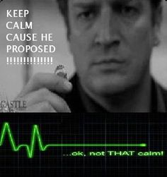 I can't keep calm! What's with all this keep calm?!