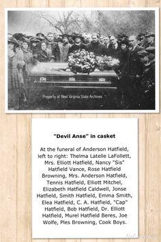 Funeral of Devil Anse Hatfield