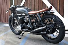 Honda CB550 by Brady Young, Seaweed  Gravel