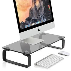 56 Best Computer Monitor Riser Stand Images Monitor Stand Desktop