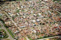 What was left after Hurricane Andrew 1993 around Homestead Fl.