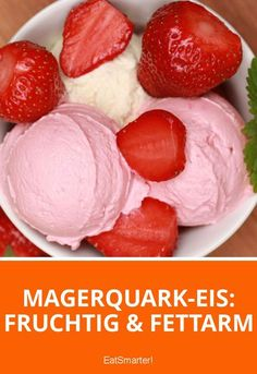 Dieses Eis machst du aus Magerquark!