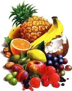 Tubos de frutas