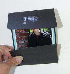 Diy graduation invitations or announcements this is very simple pursuit of craftyness do it yourself graduation cards filmwisefo Image collections
