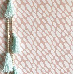 24 x 48 River pebbles Removable wall paper tile