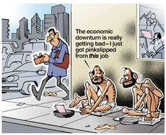 Economic downturn effects