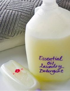 Smell Amazing With doTERRA Essential Oil Laundry Detergent Recipe DIY doTERRA Essential Oil General Cleaning Recipes