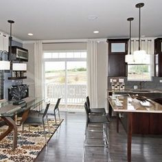 Contemporary kitchen by M/I Homes using Surya Basilica Rug (BSL-7147)