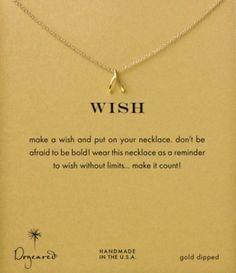 Dogeared Wishbone Necklace | Dillards.com