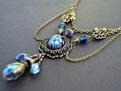Zodiac Constellation Necklace Science Jewelry by LaTaniaJewelry