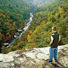 Southern Mountain Destinations for Fall | From the Ozark Mountains in northern Arkansas to the Biltmore Estate in North Carolina, find all our favorite mountain getaways for fall.