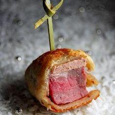 Elegant Hors D Oeuvres Recipes | Mini Beef Wellington Hors D'Oeuvres recipe – Man Tested Recipes