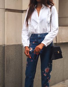 THE EMBROIDERED JEANS