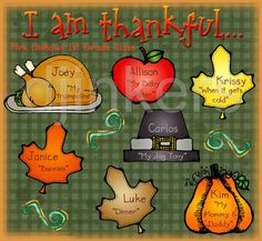 thankful for, thanksgiving clip art, thanksgiving school