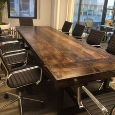 10' Conference Table For Any Business Setting!!! by Lisa and Eric Bidwell