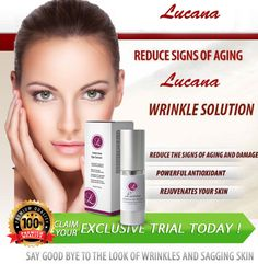 Lucana Intensive Eye Serum is a known as best kept secret for a wrinkle-free skin. It is an effective wrinkle serum created by beauty experts. Wrinkled Skin, Skin Care Cream, Organic Plants, Sagging Skin, Eye Serum, Aging Process, Collagen, Doterra, Base
