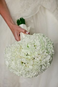 Japanese Lisianthus Bridal Bouquet  Modern White Wedding Leigh Miller Photography