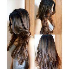 #haircut #hairdo #blowdry #outcurls #bedhead #smalltalk #happyhair #hairdresserslife #hairfun #loveherhair #colouredhair #layeredhair #happyme #happyclient #lovewhatido #instahair #instalike #keepingthelength #maintaininglonghair #versatilehair