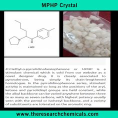 MPHP Crystal - http://www.theresearchchemicals.com/new-products-5/mphp.html
