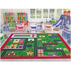 Ottomanson Jenny Collection Red Frame with Multi Colors Kids Children's Educational Alphabet Design (Non-Slip) Area Rug, X Multicolor Orange Area Rug, Navy Blue Area Rug, Beige Area Rugs, Solar System Design, Kids Area Rugs, Carpets For Kids, Alphabet Design, Alphabet For Kids, Cool Rugs