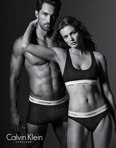 Edita Vilkeviciute Calvin Klein Underwear 2016 Spring Campaign
