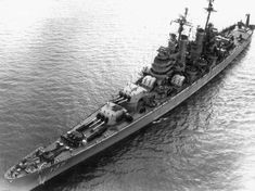 "USN - ""USS LOS ANGELES"" (CA-135) Was a (674.11') Baltimore Class Heavy Cruiser (Honors, 5 Battle Stars) Commissioned 22 July 1945 - Decommissioned 15 November 1963 - Scrapped, 16 May, 1975"