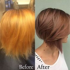 Journey To Rose Gold Blonde Hair