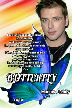 """Markus Feehily  ,""""Butterfly"""