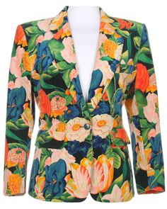 80s Kenzo Floral Jacket