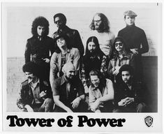 Tower of Power promotional from the plus promotional bio. Pic, however, has a corner fold. Tower Of Power, Rock And Roll, 1970s, San Francisco, The Unit, History, Movie Posters, Men, Ebay