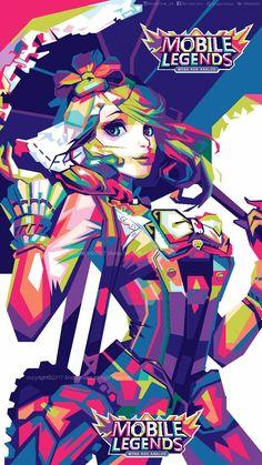 kagura mobile legend by mahayhana on DeviantArt Mobile Legend Wallpaper, Mobile Legends, Character Description, Sword Art Online, Social Community, Anime Characters, Chibi, Fan Art, Deviantart