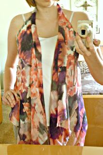 Life a Little Brighter: Upcycled Shirt